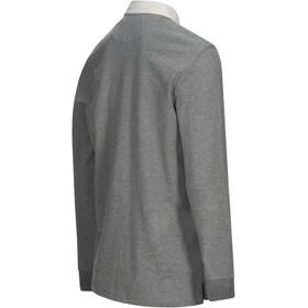 Peak Performance M's Rugby LS Shirt Grey Melange
